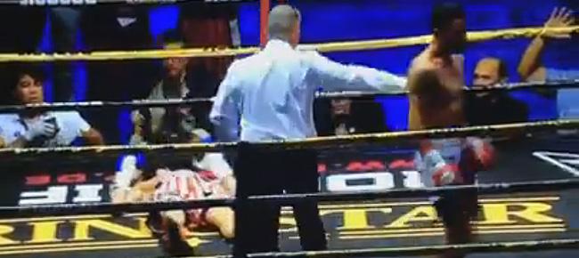 Michael Dasmarinas' BRUTAL Knockout of Karim Guerfi to Claim IBO World Title (VIDEO) April 20