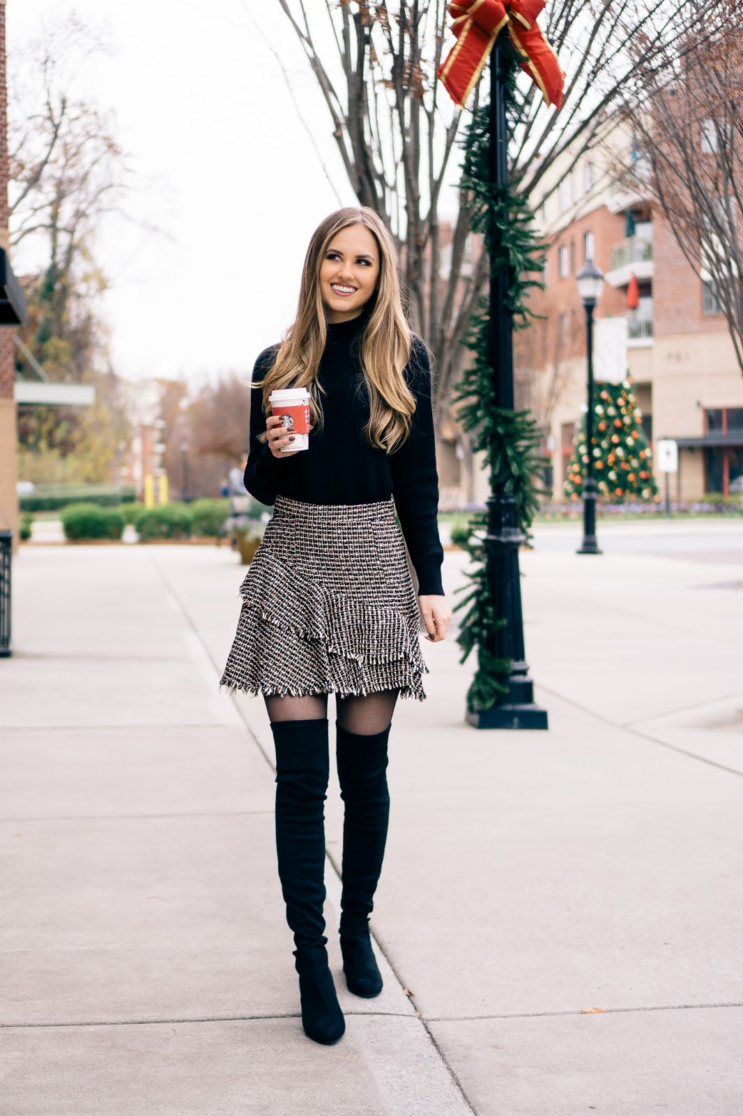 Tweed Skirts and Over,The,Knee Boots