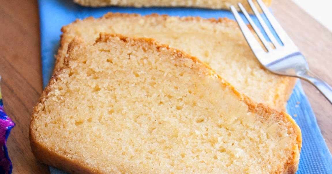 Condensed Milk Eggless Pound Cake Recipe