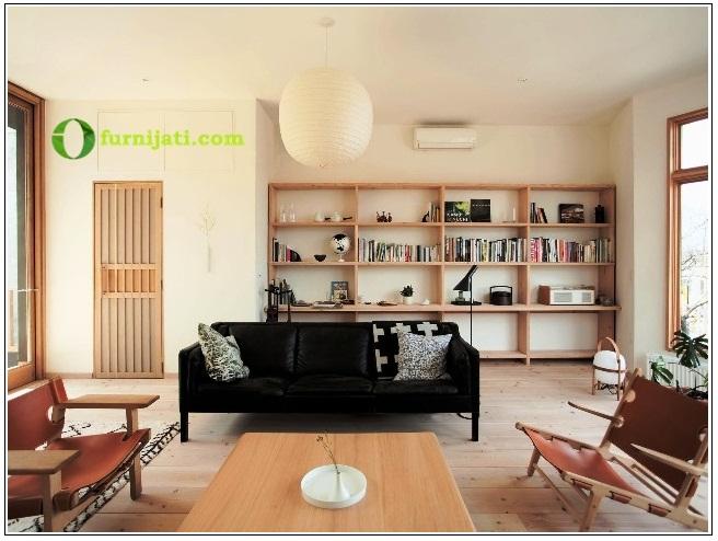 model meja kursi ruang tamu kayu jati