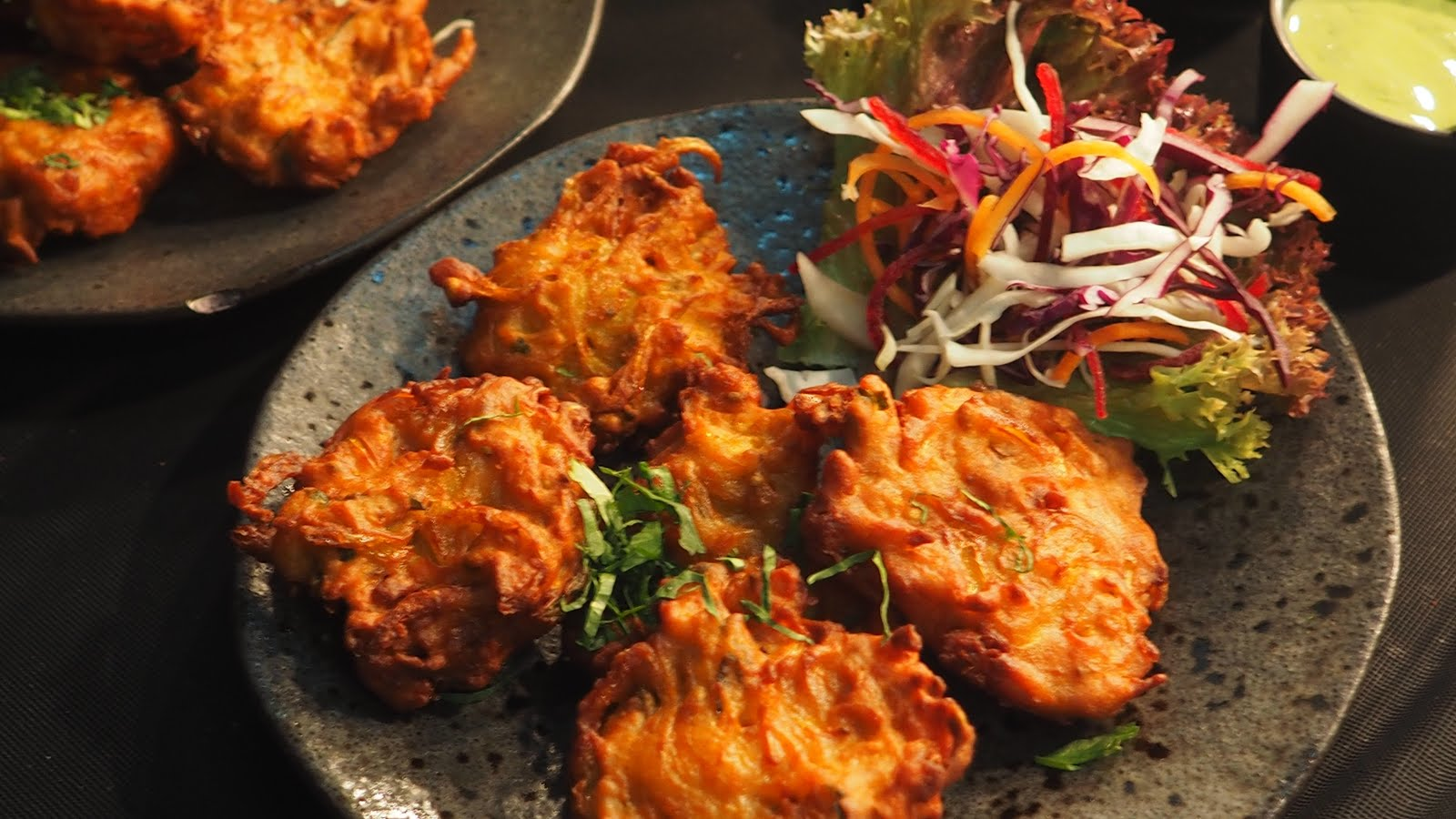Pakora fritters Traditional Ramadan Food
