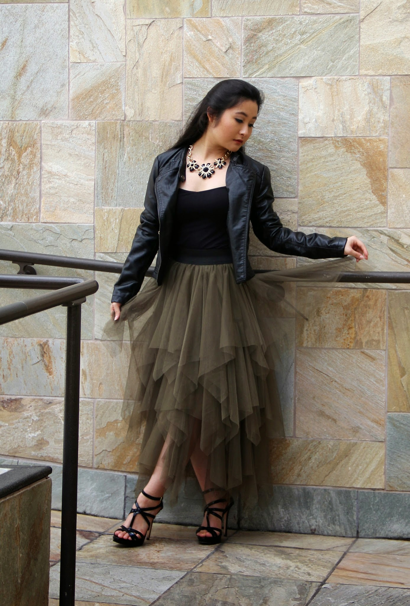 Tulle Skirt Outfit @ Elizabeth, Marie, & Me