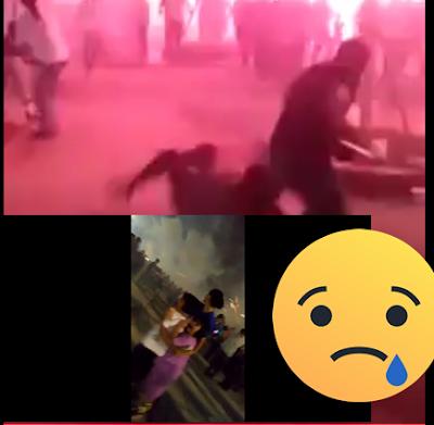 VIDEO: Kembang Api Meledak Saat Acara Pergantian Tahun 2017