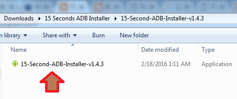 Install 15 Seconds ADB Installer