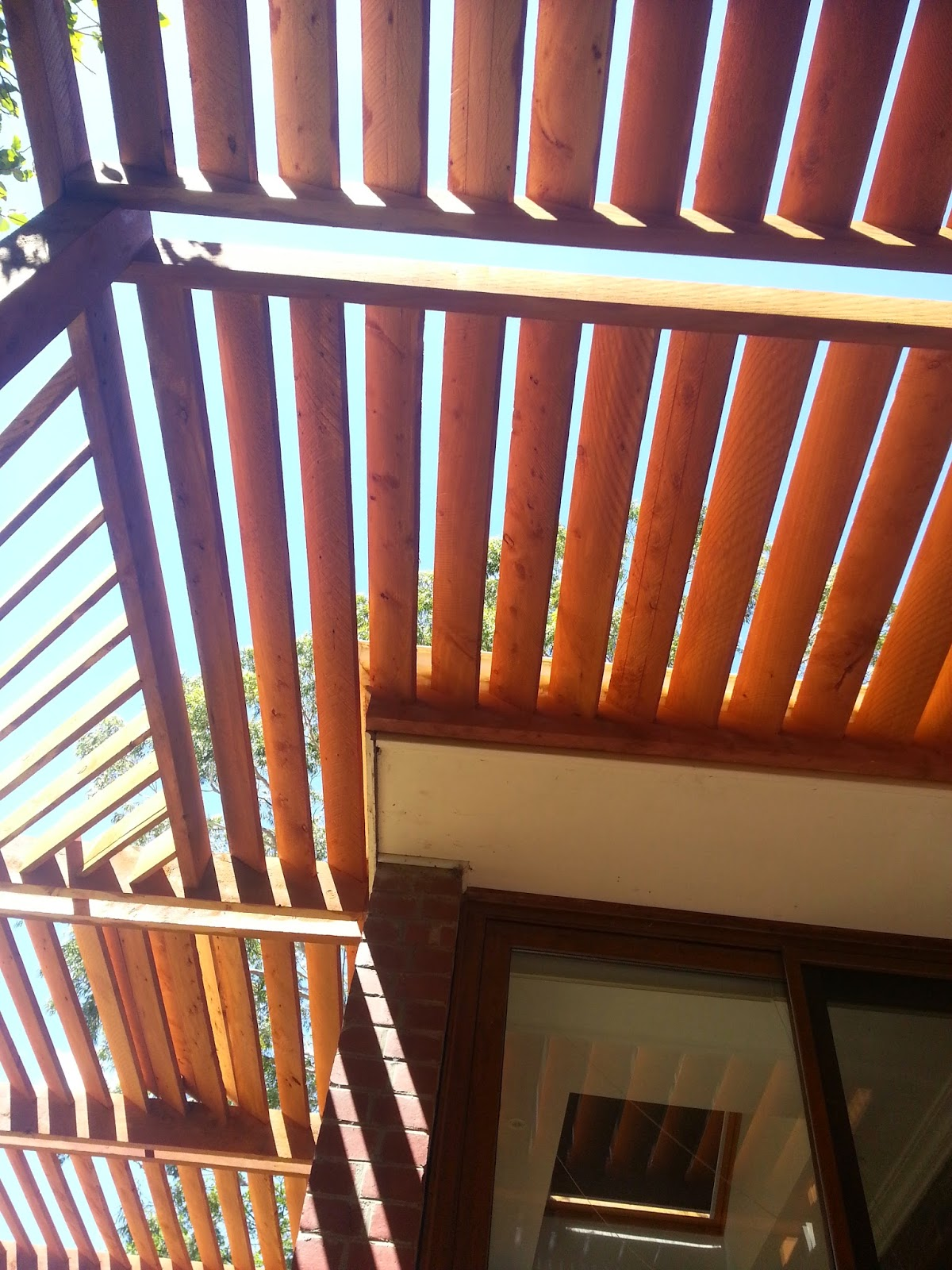 Simon Marshall Horticulture And Design Passive Solar Pergola
