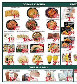 Oceans fresh food market weekly flyer January 19 - 25, 2018