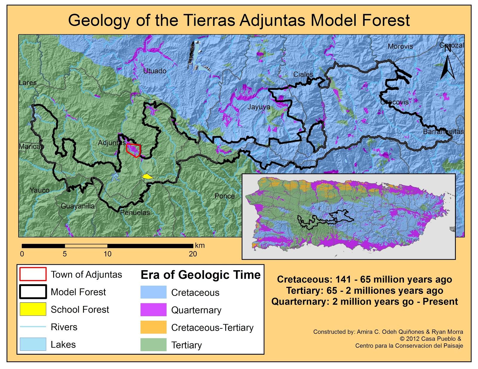 Adjuntas Paisaje Natural Y Social La Geologia