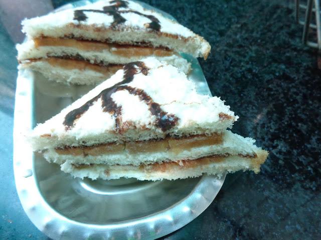 Chiku Chocolate Sandwich
