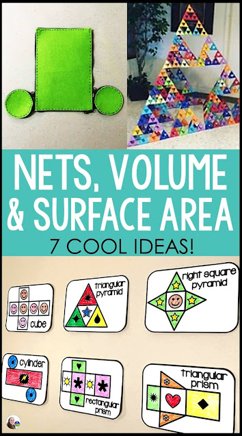 7 cool ideas for teaching nets, volume and surface area