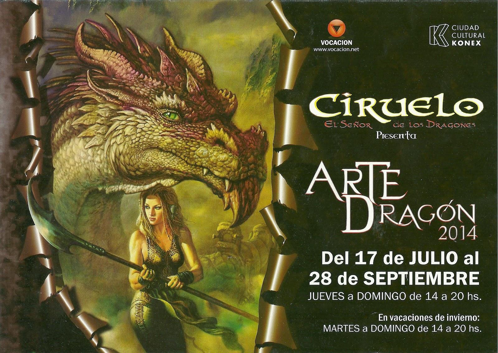 """Exposiciones Tickets Cómo Llegar: Exposición: """"Arte Dragón 2014"""" Del 17/7 Al 28/9 Del 2014"""
