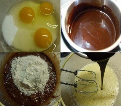 كيكة الشوكولاته الهشه