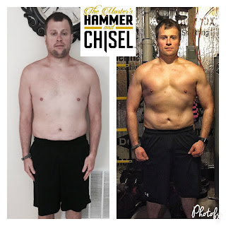 female hammer and chisel results real, male hammer and chisel transformation