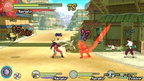 Naruto Shippuden Ultimate Ninja Heroes 3 (USA) PSP ISO ...