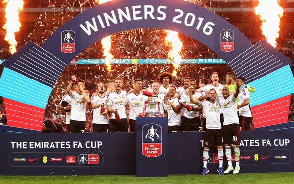 Glory Glory Man United: Red Devils faturam a FA Cup