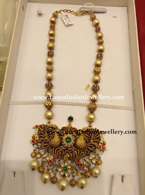 South Sea Pearl Nakshi Mala