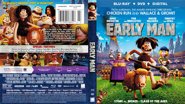 Early Man Bluray Cover