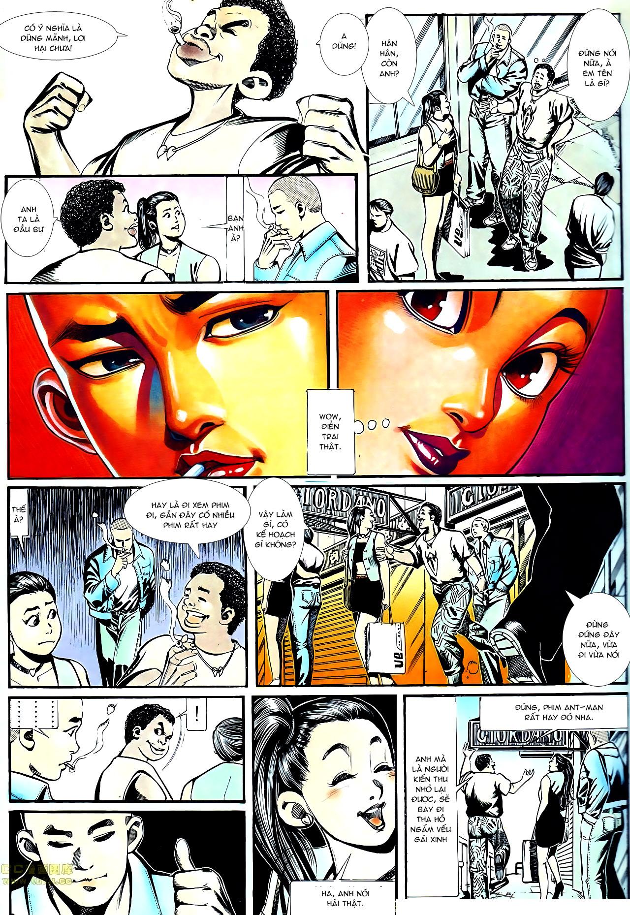 Người Trong Giang Hồ chapter 152: trăng sáng chiêm đông trang 5