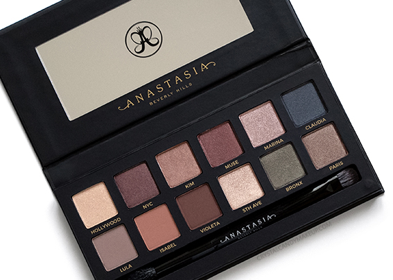 ABH Master Palette by Mario Eyeshadows Review Photos