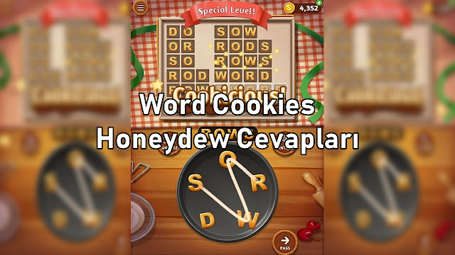 Word Cookies Honeydew Cevaplari