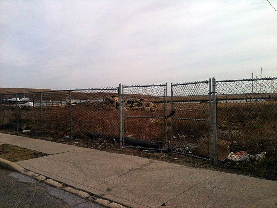Where Speaks, The Rock Pile, and The Action House once stood in Island Park, Long Island, New York