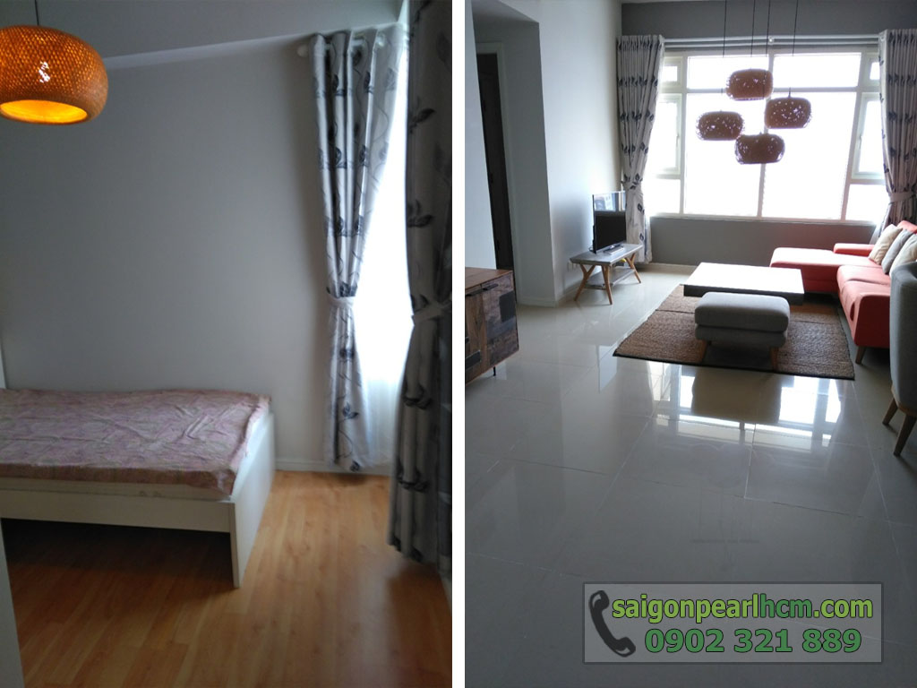 For rent Saigon Pearl apartment with area 84m2 price 950usd  - hình 4