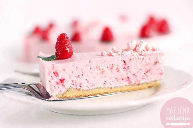 Beze torta sa malinama ~ Magična Oklagija Food Blog