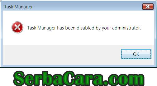 Cara Mengatasi Task Manager yang Tidak Bisa Dibuka (Disabled)