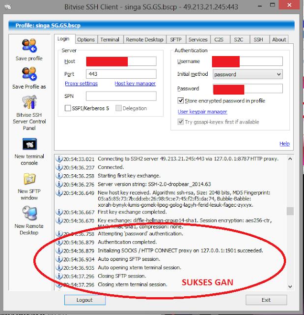 Tutorial Lengkap Internet Gratis Menggunakan SSH / Shell Secure   Panduan Pemula, Trik Internet Gratis Menggunakan SSH, Trik Internet Gratis SSH, Trik Internet Gratis di Komputer, Trik Internet Gratis di PC, Trik Internet Gratis di Laptop, Trik Internet Gratis terbaru, Trik Internet Gratis Selamanya, Trik Internet Gratis 2015, Tutorial pengaturan Bitvise, Tutorial pengaturan Proxyfier