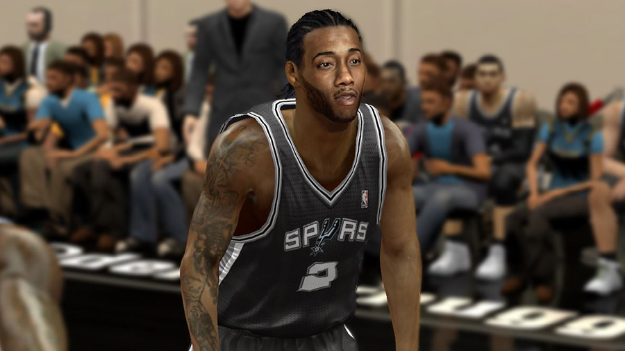 MVP Kawhi Leonard Face Patch | NBA 2K