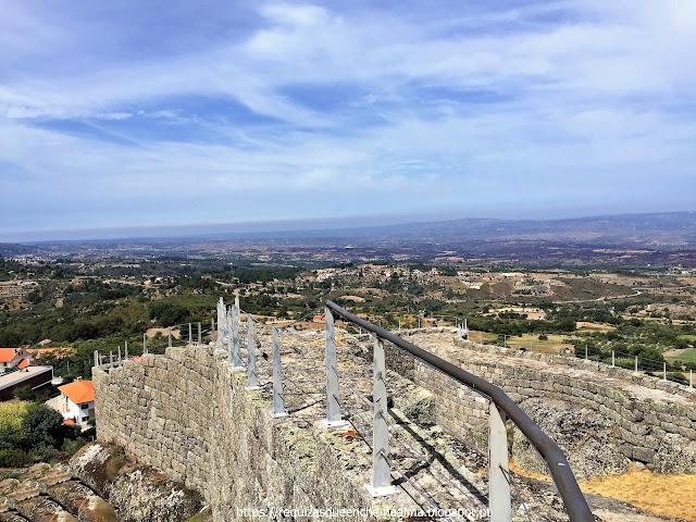 Caminho de Ronda do Castelo de Linhares da Beira