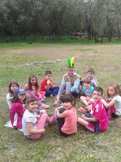 Excursión 1º y 2º Campamento Indio Valdastillas