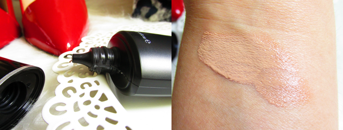 Review: glominerals Sheer Tint Base - golden medium - ingredients/inhaltsstoffe, swatch