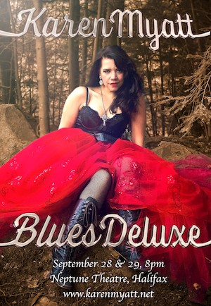Karen Wyatt presents Blues Deluxe at Neptune Studio Theatre.