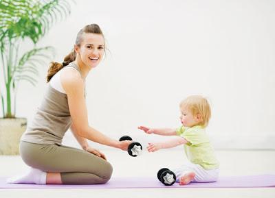 Những bài tập giảm béo bụng sau sinh hiệu quả