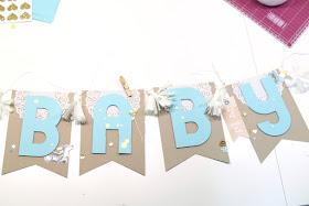 Baby Girlande für Jungs