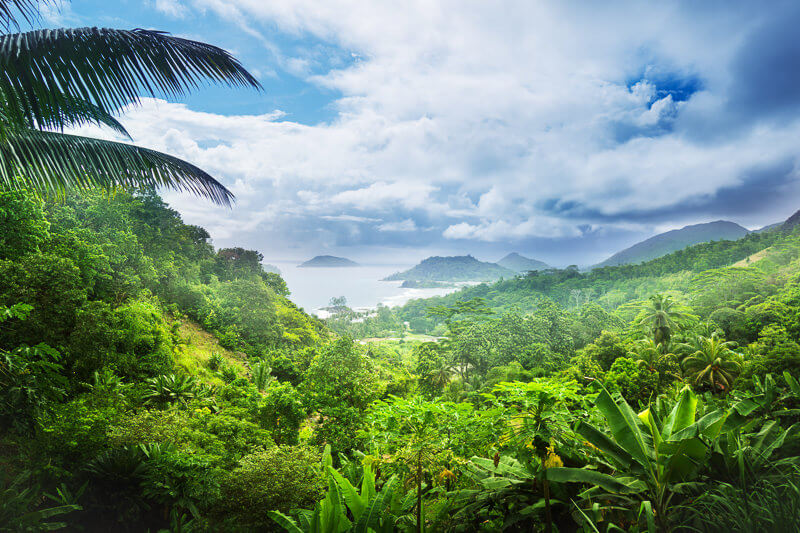 Morne Seychellois National Park in Seychelles