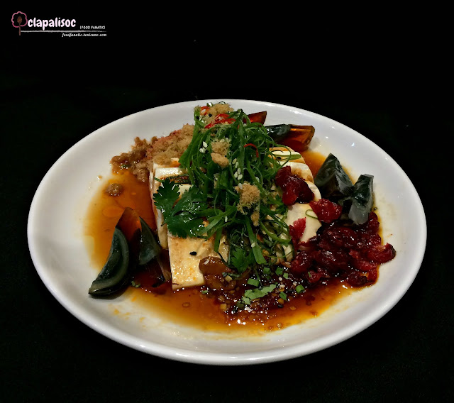 Cranberries and Tofu from Ping Pong Diplomacy