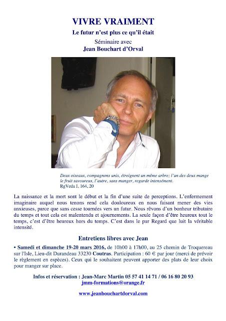 Vent d'Éveil: Rencontre avec Jean Bouchart d'Orval en Gironde les 19 ...