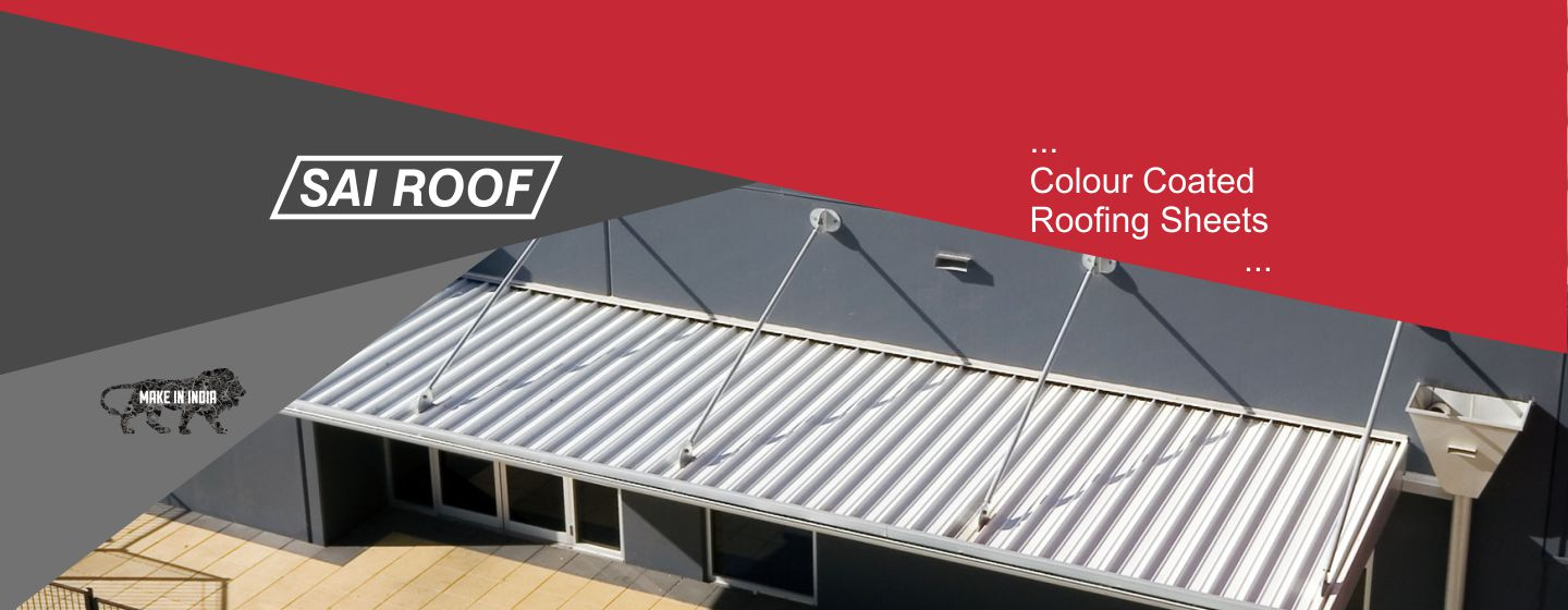 Colour coated roofing sheets manufacturer in india