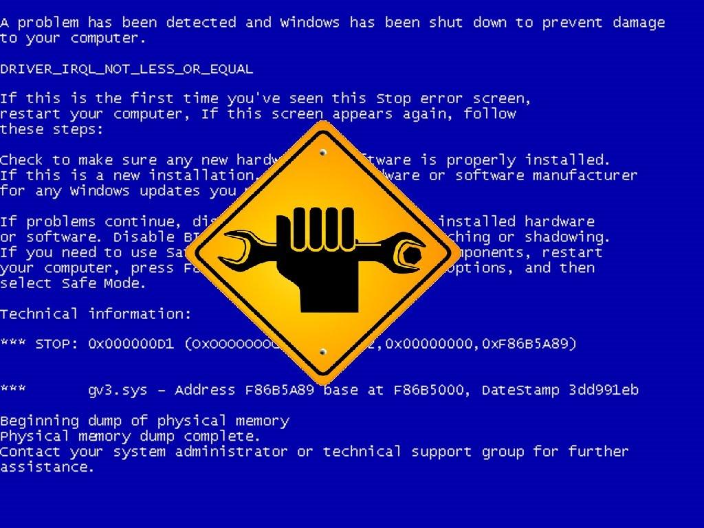 Cara Memperbaiki Windows Yang Terkena Blue Screen Samurai Bali