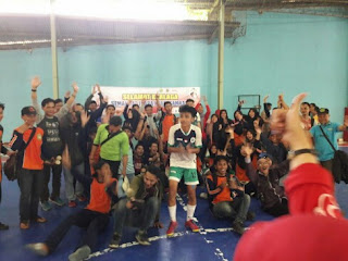 Futsal MAN 1 cililin Aksioma Nasional 2017