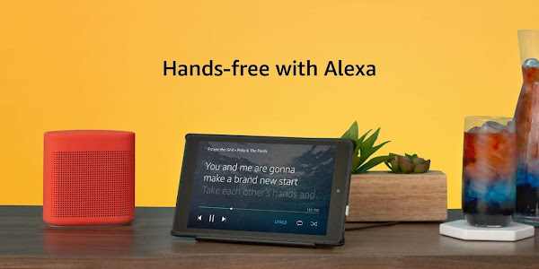 all-new Fire HD 8 runs Hands-Free with Alexa
