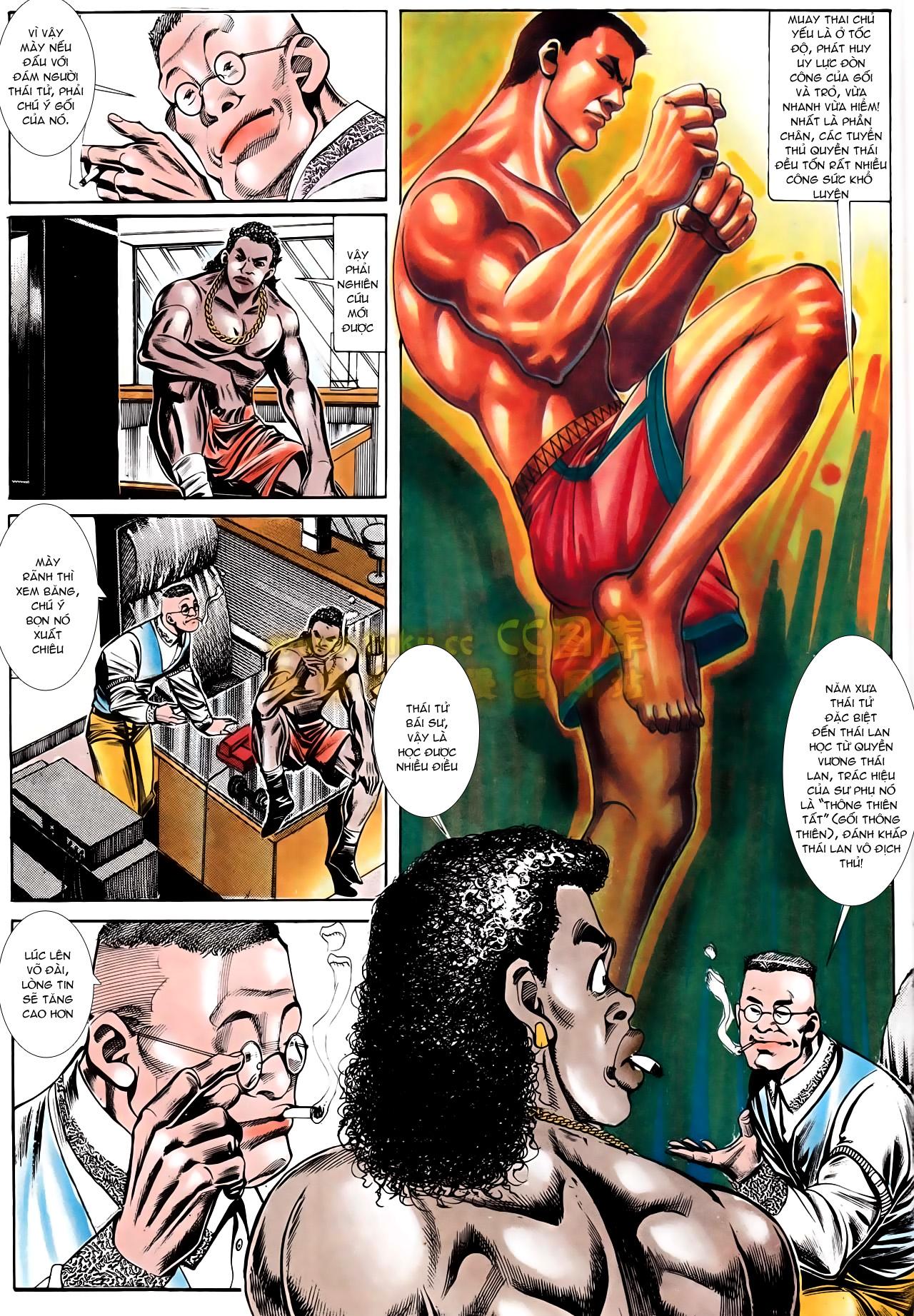 Người Trong Giang Hồ chapter 166: bùng nổ trang 14