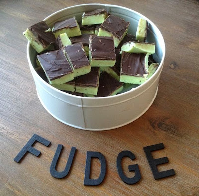 Chocolat mint fudge