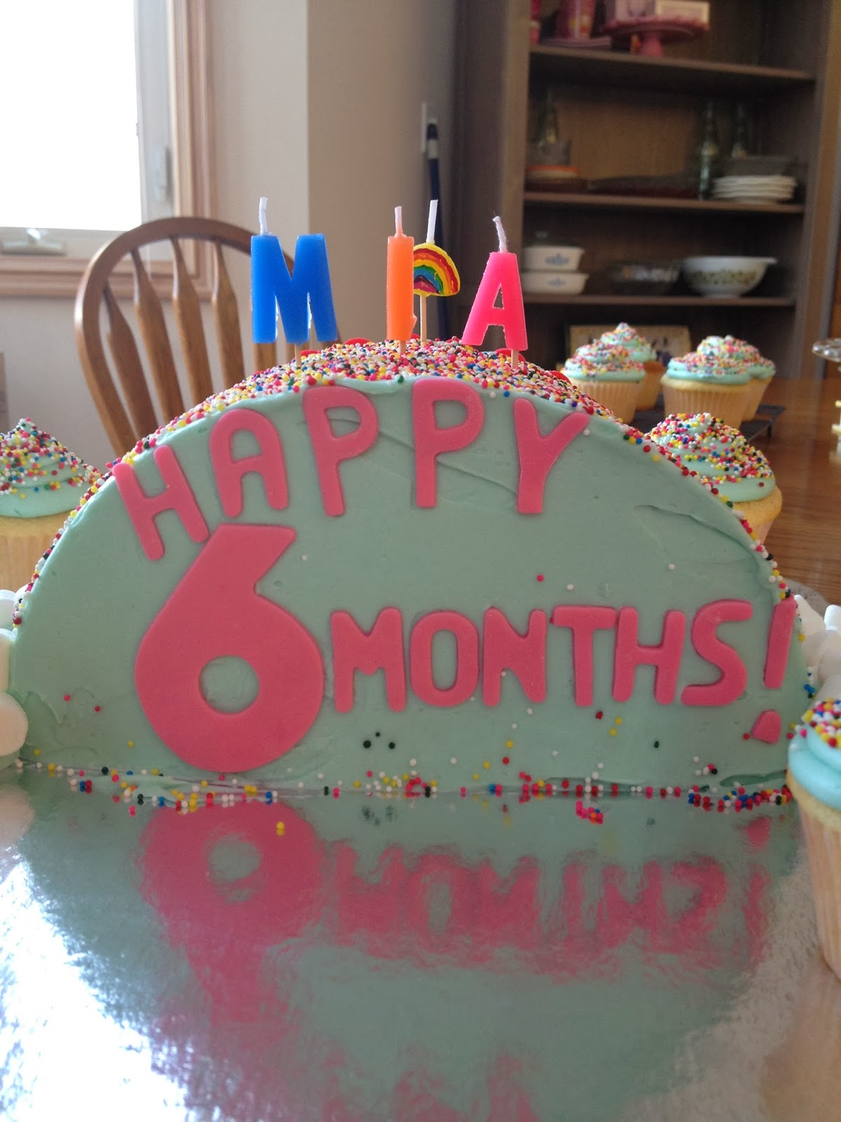 Mias 6 Months Old