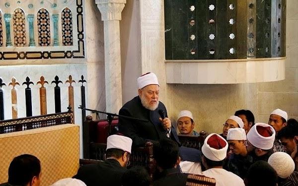 Bumikan Semangat Tajdid Syekh Ali Jum'ah, Senior Santri Al-Azhar Dorong Masisir  Hadiri Halaqah Masyayikh Al-Azhar