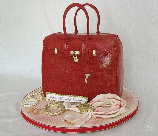 Confectionary Designs Happy Birthday Purse Cake Bergen