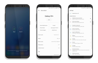 Download SAMSUNG S9 UX9.0 THEME FOR EMUI 8