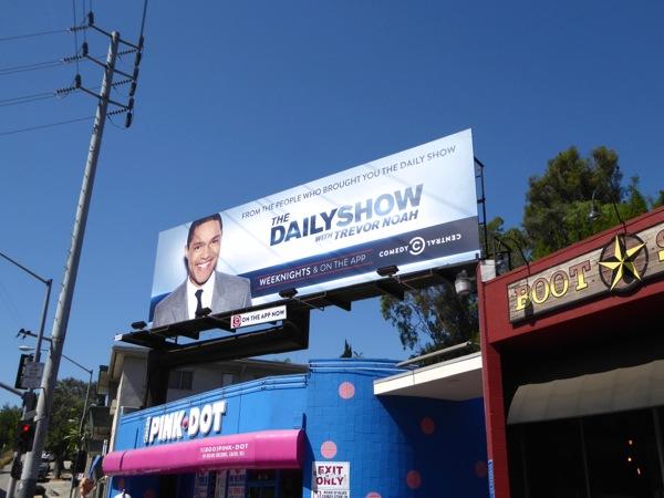 Daily Show Trevor Noah 2015 billboard