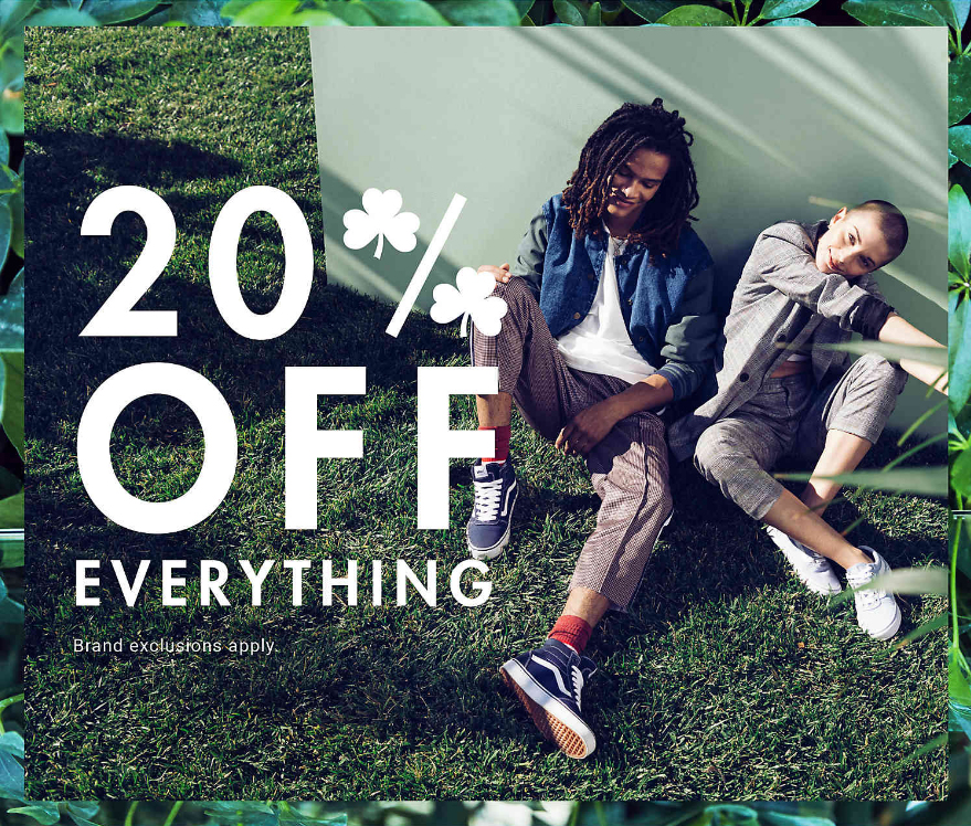 Take 20% off your DSW order and other promotions to shop this weekend :: Effortlessly with Roxy